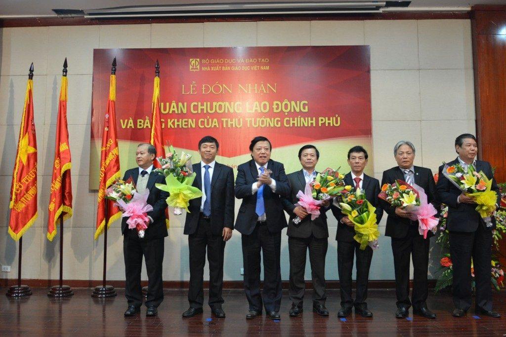 Các cá nhân nhận Huân chương Lao động và Bằng khen của Thủ tướng Chính phủ