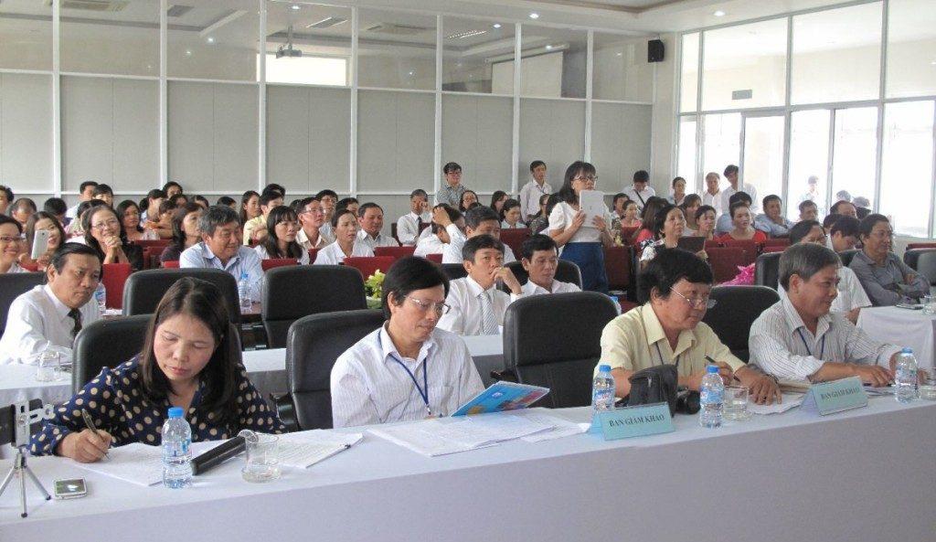 Ban giám khảo Hội thi khu vực miền Trung - Tây Nguyên