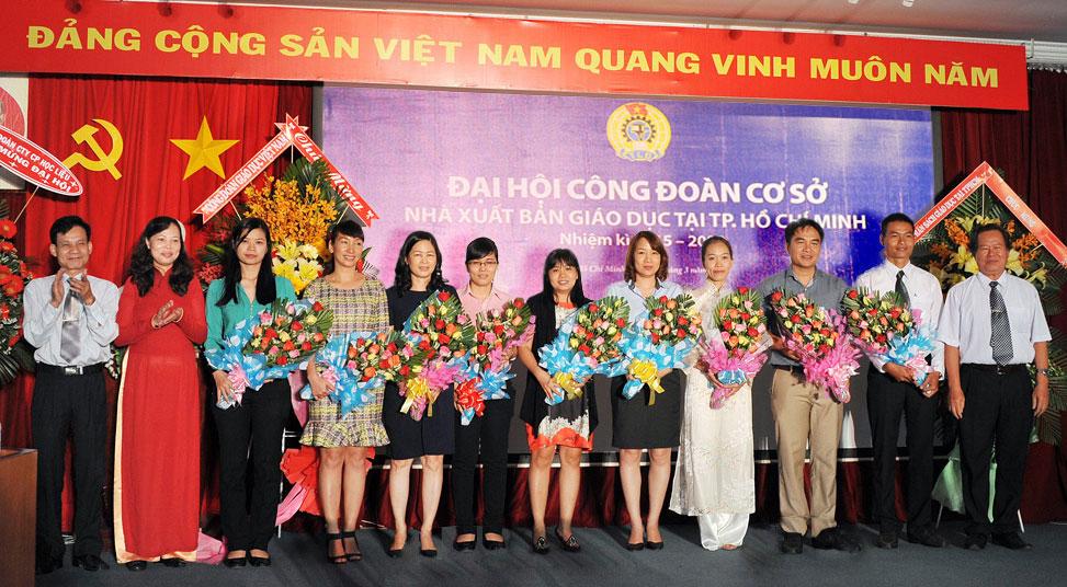 Ban Chấp hành CĐCS NXB Giáo dục tại TP. Hồ Chí Minh nhiệm kì 2015 – 2020