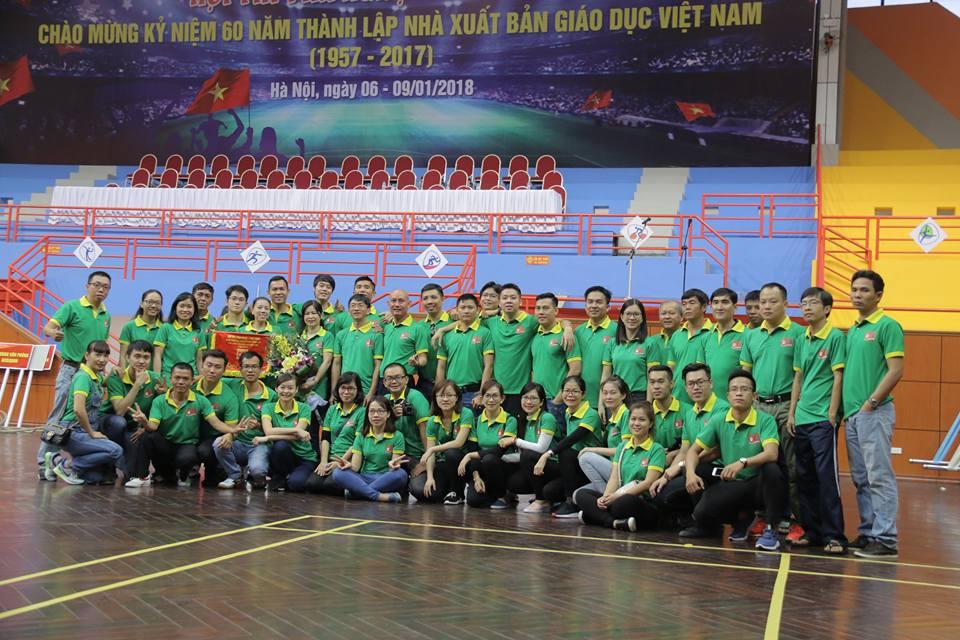 Đoàn VN-TT khu vực miền Nam tham dự Lễ khai mạc Hội thi VN-TT chào mừng kỷ niệm 60 năm thành lập NXBGD VN