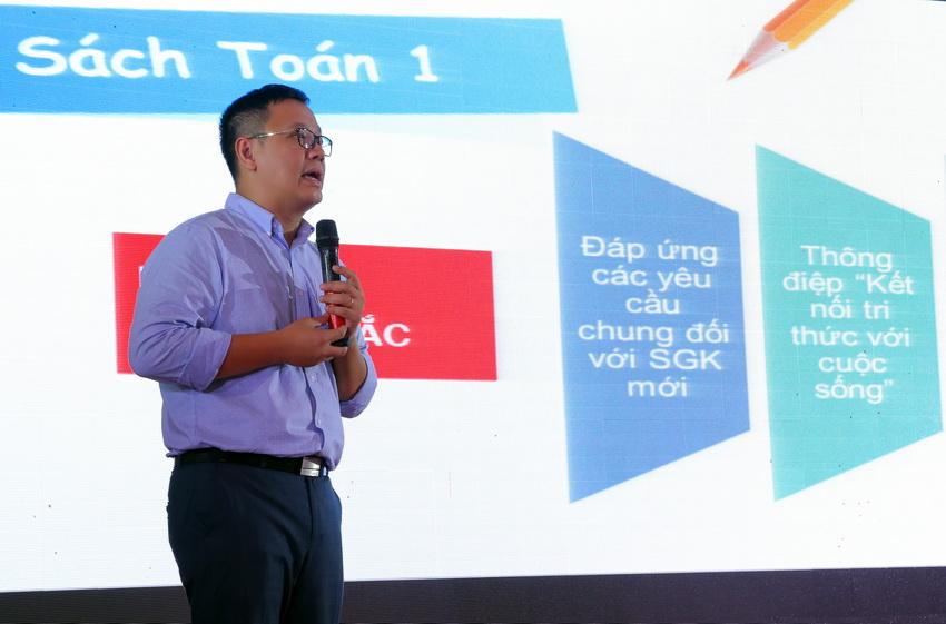 NXB Giáo dục Việt Nam giới thiệu bộ SGK Toán lớp 1 mới. Nguồn ảnh: giaoducthoidai.vn