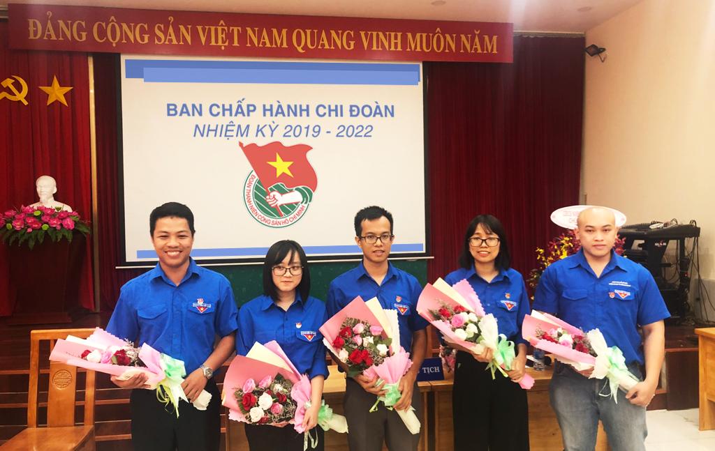 Ban chấp hành Đoàn Thanh Niên nhiệm kỳ 2019 - 2022